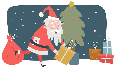 "Merry Christmas | 平安是福 ""果""色添香"